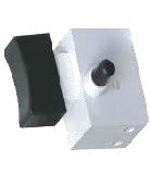 Interruptor Amoladora angular 180mm marca Stingray y similares, 10 Amp. 250 V, Largo:25,6mm, Alto:24,7mmAncho:26mm