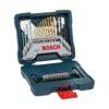 Juego Set Kit Azul De Mechas Y Puntas Bosch X-line 30 Piezas